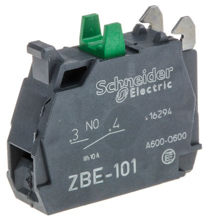 BLOCK CONTACTS NORMALLY OPEN ZBE-101