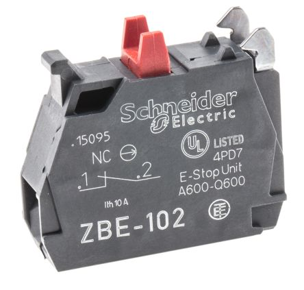 BLOCK CONTACTS NORMALLY CLOSE ZBE-102