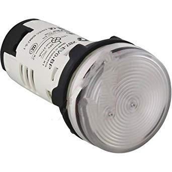 PILOT LAMPS WHITE ZBV-B1